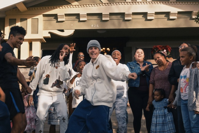 "Justin Bieber y Quavo en ""Intentions"""