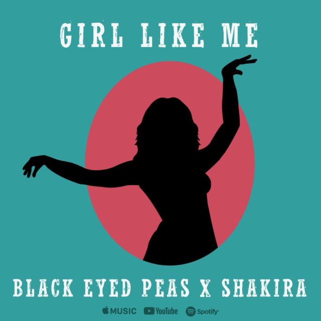 "Bep y Shakira en ""Girl like me"""