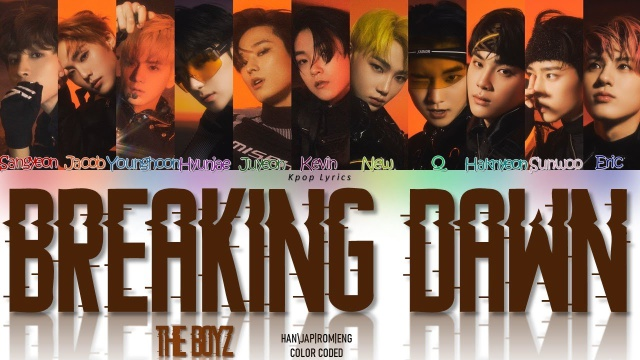THE BOYZ lanzó Breaking Dawn